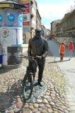 Vieux monument de Marych à Poznan, Pologne Photo stock