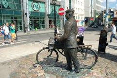 Vieux monument de Marych à Poznan, Pologne Images stock