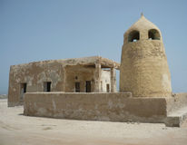 Vieux mosquée et minaret Images libres de droits