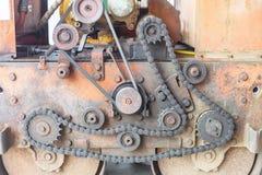 Vieux moteur Photographie stock