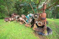 Vieux moteur Photo libre de droits