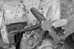 Vieux moteur Images stock