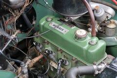 Vieux moteur de Morris Photo libre de droits