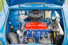 Vieux moteur de voiture Photo stock
