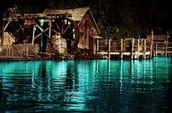 Vieux moulin à eau Images libres de droits