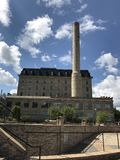 Vieux moulin à farine Photo libre de droits