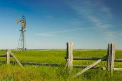 Vieux moulin à vent Image stock