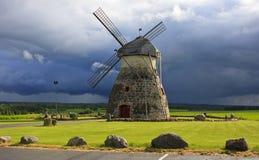 Vieux moulin à vent Images stock