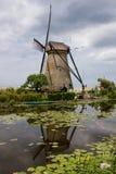 Vieux moulin à vent Photos libres de droits