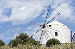 Vieux moulin à vent Images libres de droits