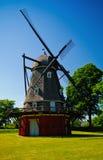 Vieux moulin à vent hollandais Image libre de droits