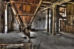 Vieux moulin de HDR Images libres de droits
