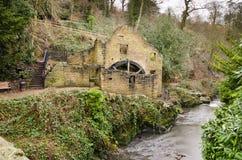 Vieux moulin de Jesmond Dene Image libre de droits