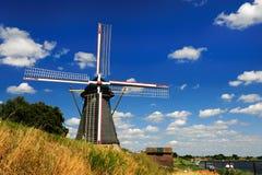 Vieux moulin de vent Images libres de droits