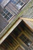 Vieux moulin en bois Photographie stock