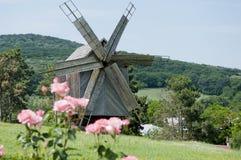 Vieux moulin en bois Photos stock