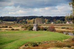 Vieux moulin en bois Photos libres de droits