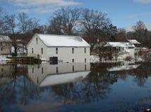 Vieux moulin historique photos stock