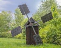 Vieux moulin à vent Photographie stock