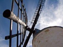 Vieux moulin ? vent photographie stock libre de droits