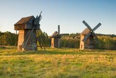 Vieux moulins à vent Photographie stock libre de droits