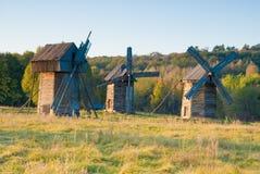 Vieux moulins à vent Photos stock