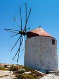 Vieux moulins à vent traditionnels image libre de droits