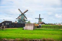 Vieux moulins Image stock