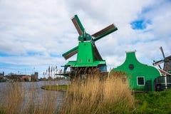 Vieux moulins Photos libres de droits