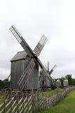 Vieux moulins de vent Photos libres de droits
