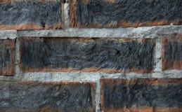 Vieux mur avec la brique rouge Image libre de droits