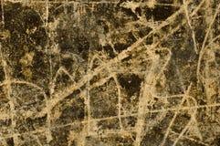 Vieux mur avec le graffiti Photographie stock libre de droits