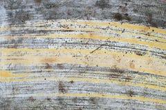 Vieux mur avec le moule Photographie stock