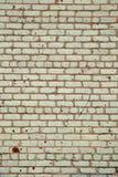 Vieux mur blanc Image libre de droits