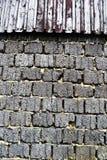 Vieux mur criqué Photos stock