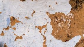 Vieux mur d'argile, hutte de boue, argile criqué Photo libre de droits