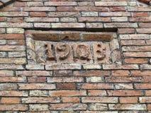 Vieux mur de brique Image stock