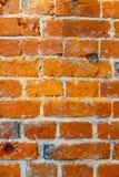 Vieux mur de brique rouge Images libres de droits