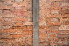 Vieux mur de briques Photos libres de droits