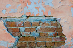 Vieux mur de briques Photo stock