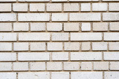 Vieux mur de briques argenté Photo libre de droits