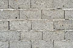 Vieux mur de briques argenté Images stock