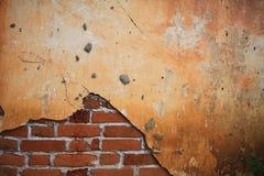 Vieux mur de briques comme fond Photos stock