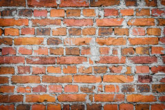 Vieux mur de briques de fond photos stock