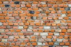 Vieux mur de briques de fond images stock