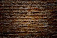 Vieux mur de briques grunge Images libres de droits