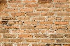 Vieux mur de briques rouge Photos libres de droits