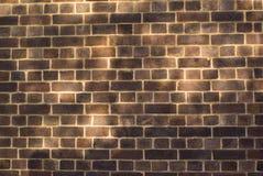 Vieux mur de briques rouge Image stock