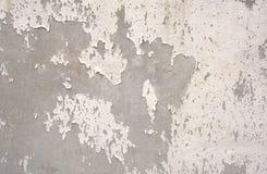 Vieux mur de ciment et blanc pointillé Photo stock