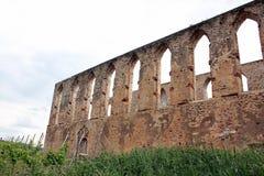 Vieux mur de cloître Stuben Photos libres de droits